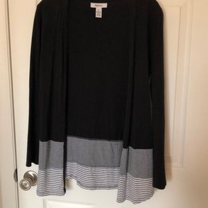 Style & Co Black Sweater